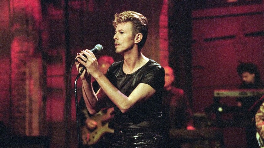 David Bowie in 1995.