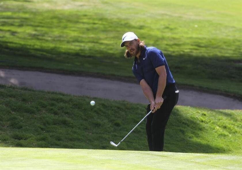 El golfista inglés Tommy Fleetwood. EFE/Archivo