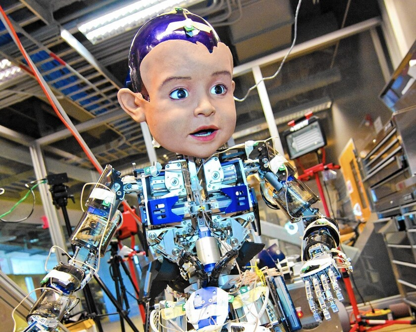 The Contextual Robotics Institute was unveiled Friday at UC San Diego, where experimental robot Diego San has been used in research projects.