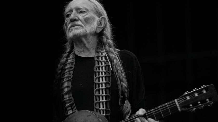 """Veteran country singer and songwriter Willie Nelson sings """"It Gets Easier,"""" a song he wrote with Buddy Cannon for his forthcoming album, """"God's Problem Child."""""""