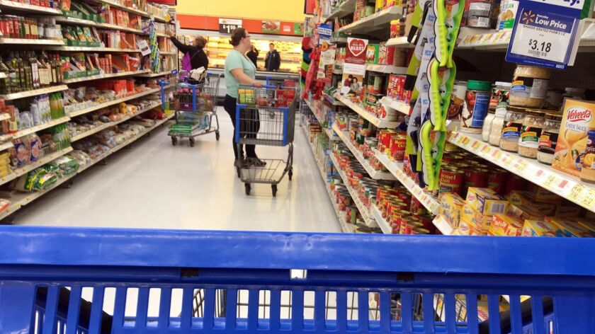 Walmart's grocery business is its biggest source of revenue.