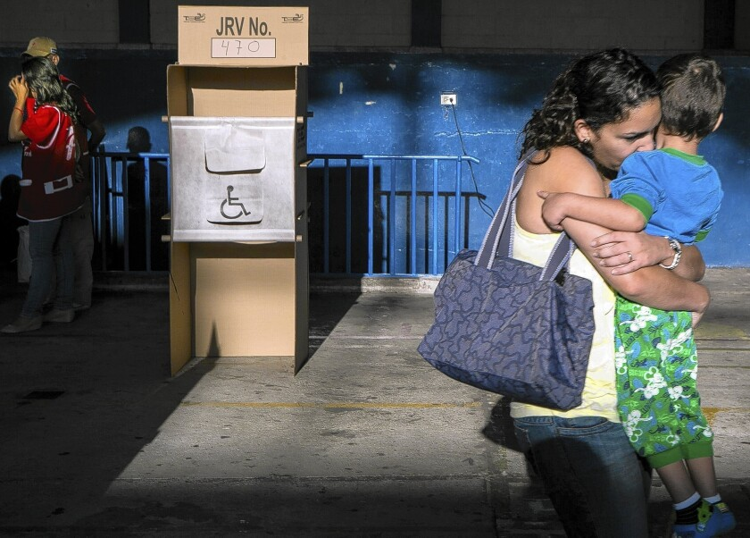 Close vote in El Salvador