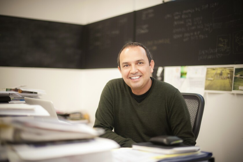 Teddy Cruz is a UC San Deigo visual arts teacher and urban researcher devoted to designing better urban environments that are more suited to human communities.