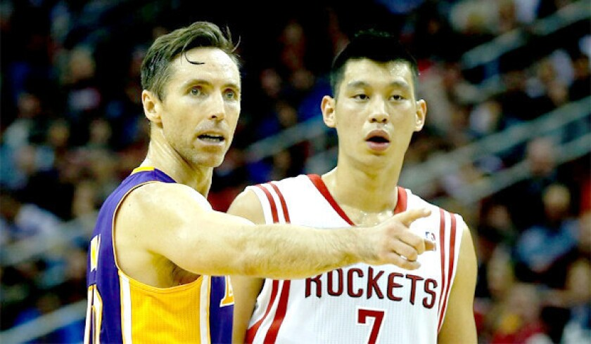 Steve Blake needs to keep Jeremy Lin struggling against Lakers