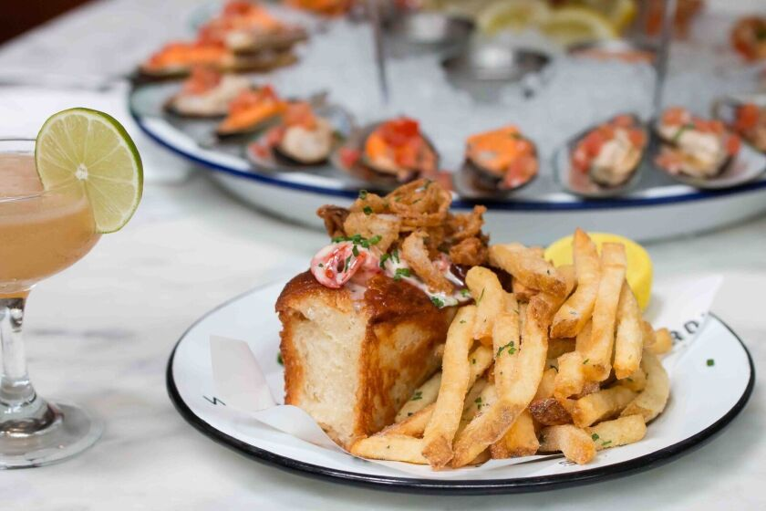 Lobster roll from Ironside Fish & Oyster. (Courtesy photo)