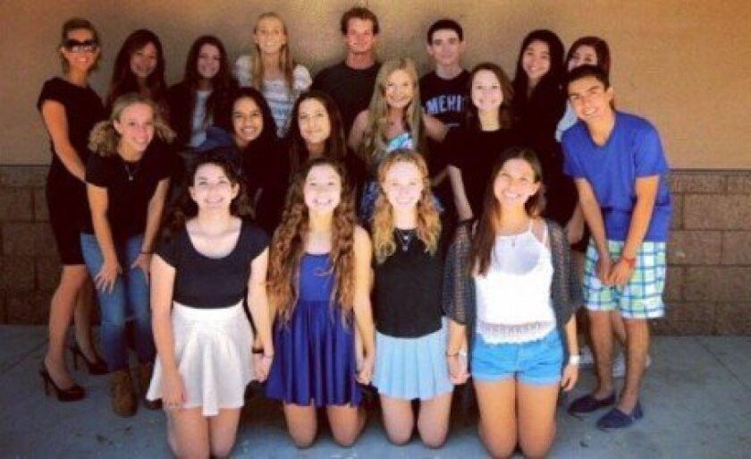 The 2014-15 PALs began their new program at Canyon Crest Academy this fall. Courtesy photo