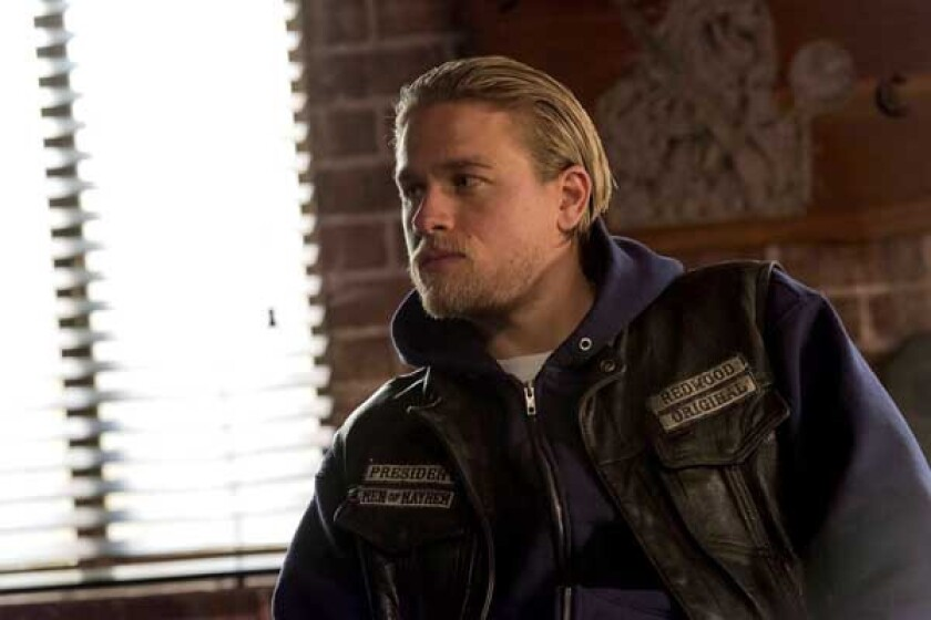 """Charlie Hunnam """"Sons of Anarchy"""" on FX."""