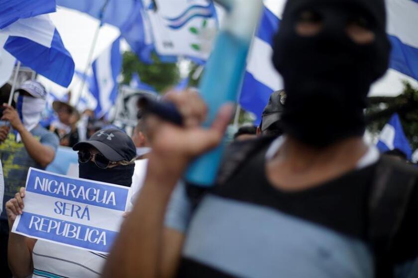 """La Casa Blanca exigió hoy """"unas elecciones justas, libres y transparentes"""" para la restauración de la democracia en Nicaragua, y abrió la puerta a más sanciones a funcionarios del régimen del presidente Daniel Ortega si no detiene la """"indiscriminada"""" violencia que ha dejado ya más de 350 muertos. EFE/ARCHIVO"""