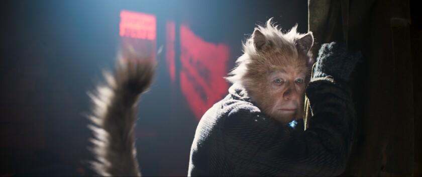 """Ian McKellen as Gus the Theatre Cat in """"Cats."""""""
