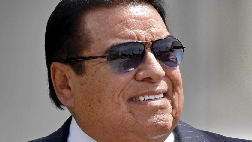 Alfred J.R. Villalobos appears at Los Angeles County Superior Court in Santa Monica on May 28, 2010.