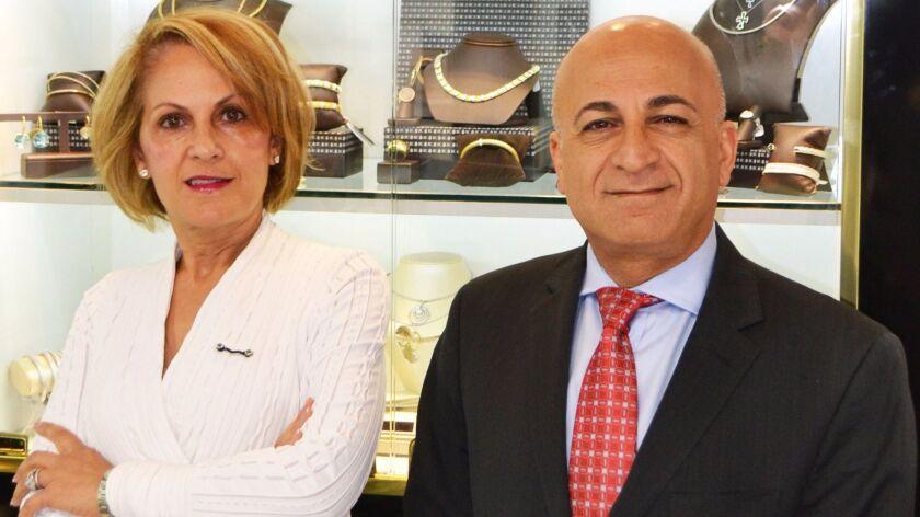 Siblings Minoo Anvari and Fred Nasseri own and operate Unicorn Jewelry in Rancho Bernardo.