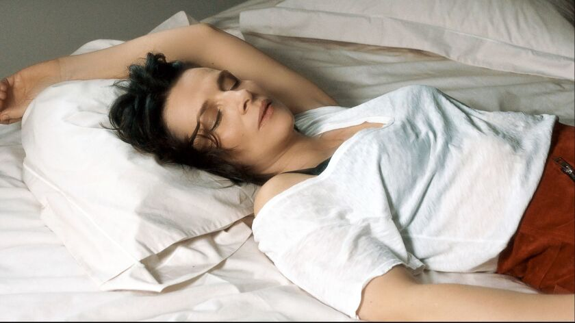 "Juliette Binoche in a scene from ""Let the Sunshine in."" Credit: Sundance Selects"