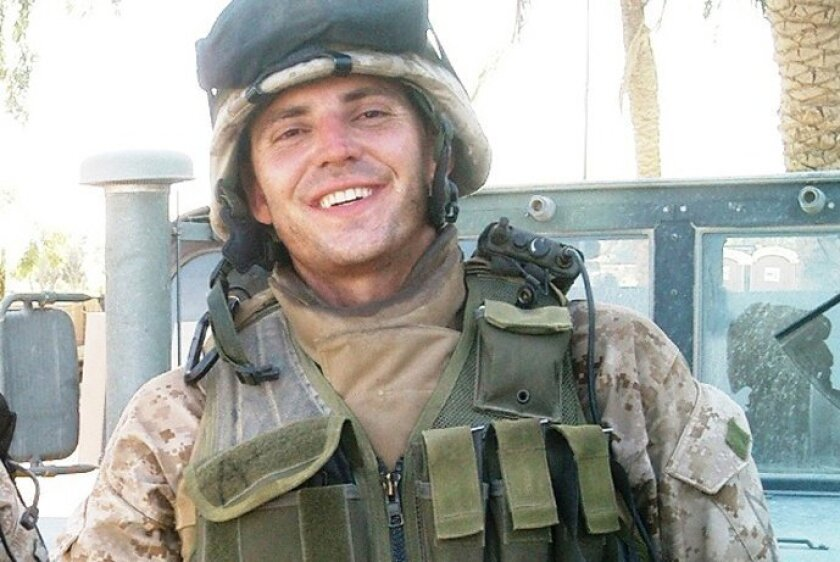 Nathan Fletcher saw active duty as a Marine when deployed to Iraq and Africa.