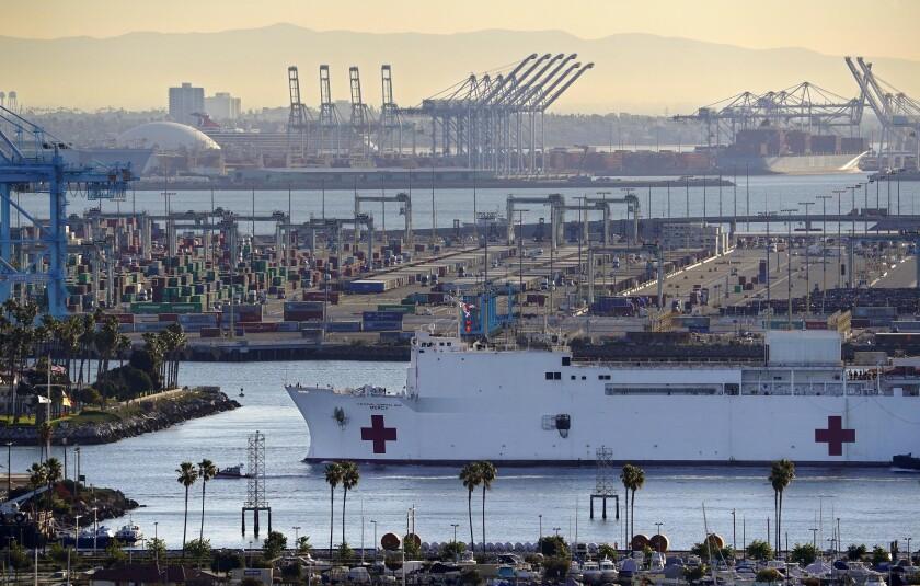 Virus Outbreak-Hospital Ship