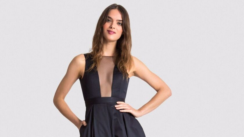 Vaute Couture hopes to elevate vegan fashion with gowns made of satin spun from recycled plastic bottles.
