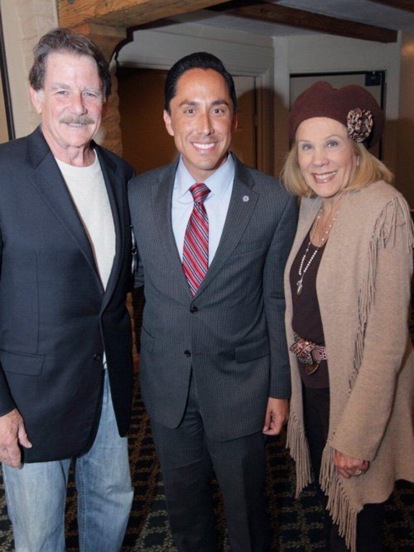 Paul McEneany, Mayor Todd Gloria, Maria McEneany