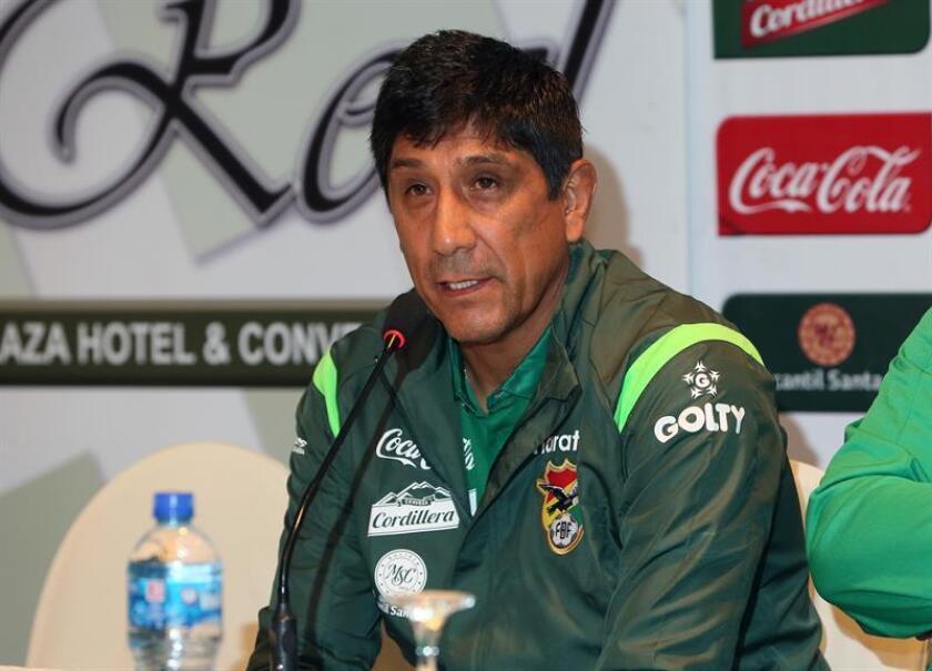 Alberto Illanes, seleccionador de Nacional de Potosí. EFE/Archivo