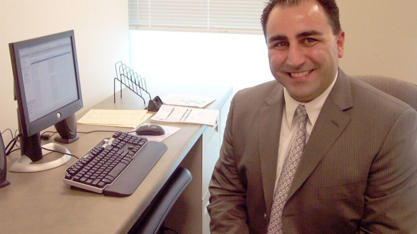 John Saro Balian, shown in 2006, after he became a spokesman for the Glendale Police Department.