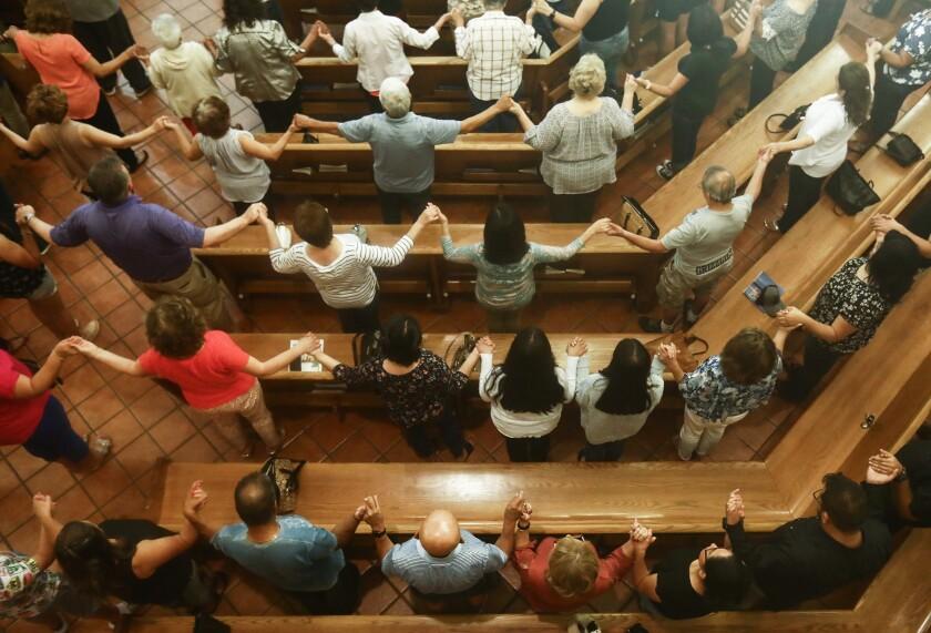 El Paso church vigil