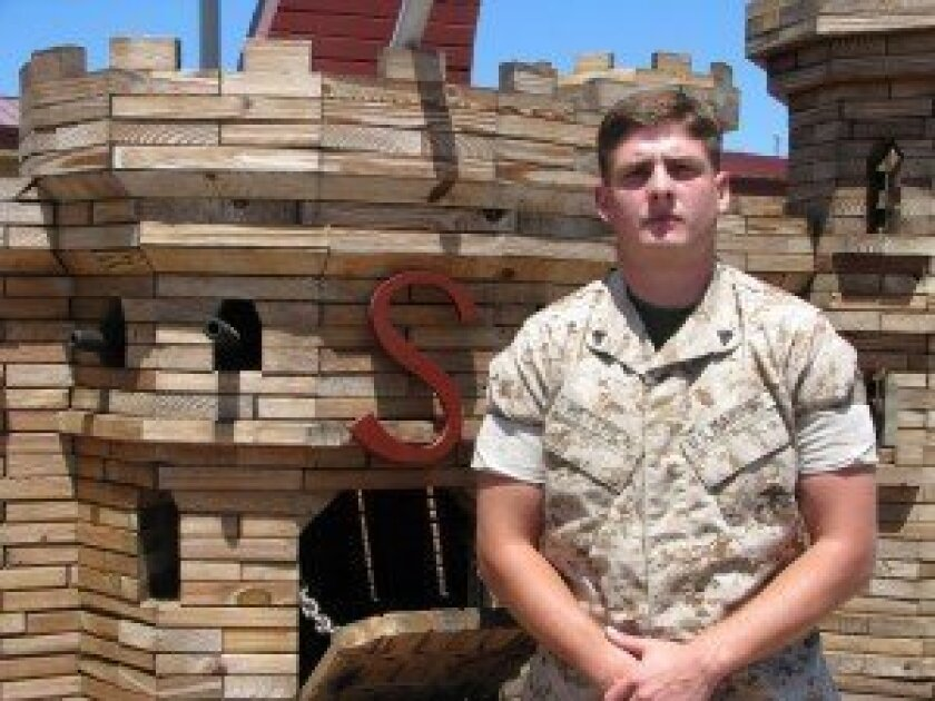 U.S. Marine Cpl. Jervis Hettrick. Photo by Jeanne McKinney