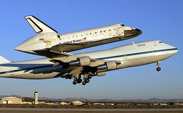 Space Shuttle Endeavour heads back to Florida