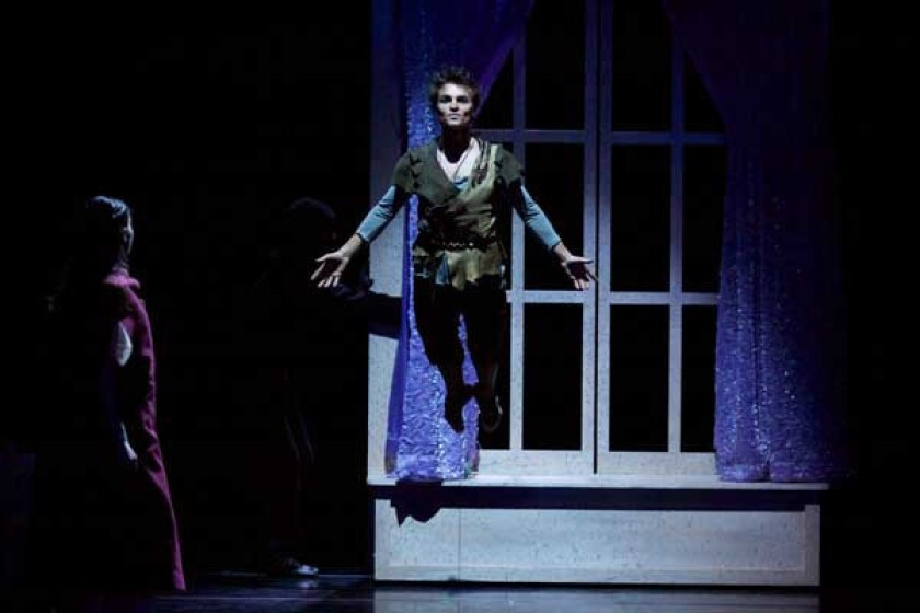 """Marc Petrocci in """"Peter Pan From the Milwaukee Ballet"""" on KOCE."""