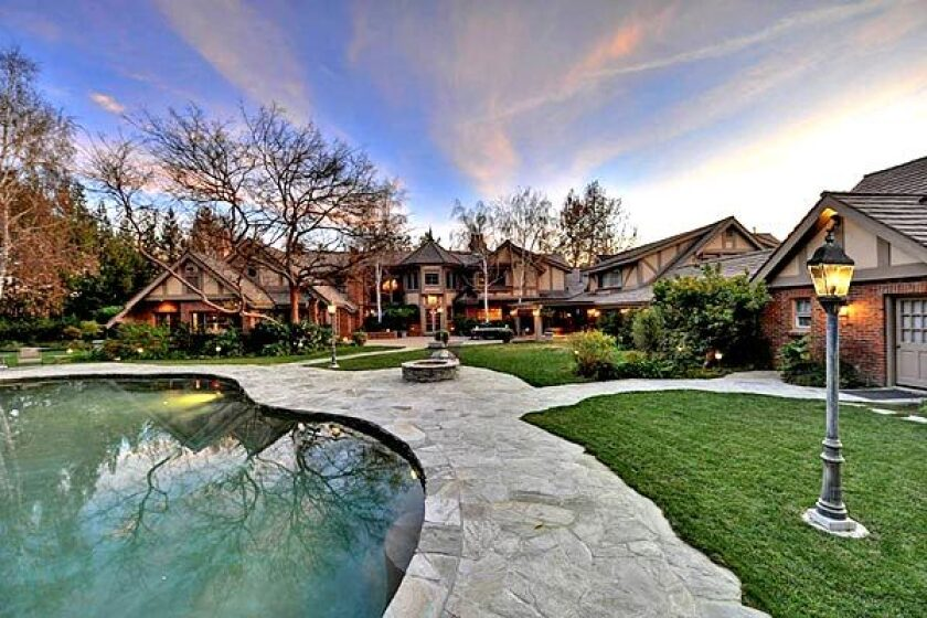 The house in Hidden Hills that Britney Spears rented in 2011 is back on the market, priced for sale at $9.995 million.