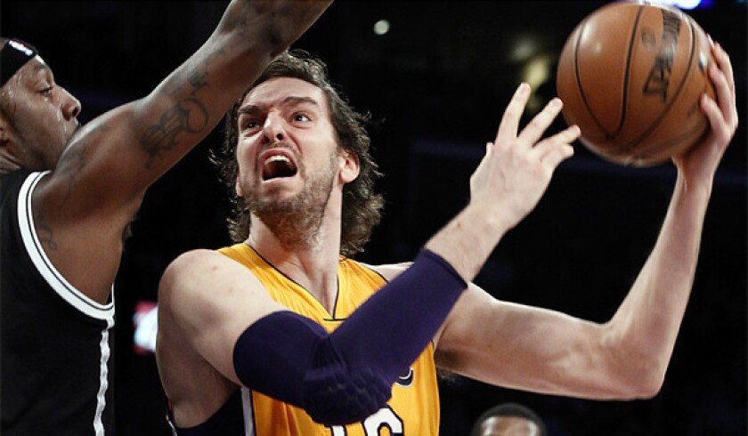 Pau Gasol has become the odd man out in this strangest of Lakers seasons.