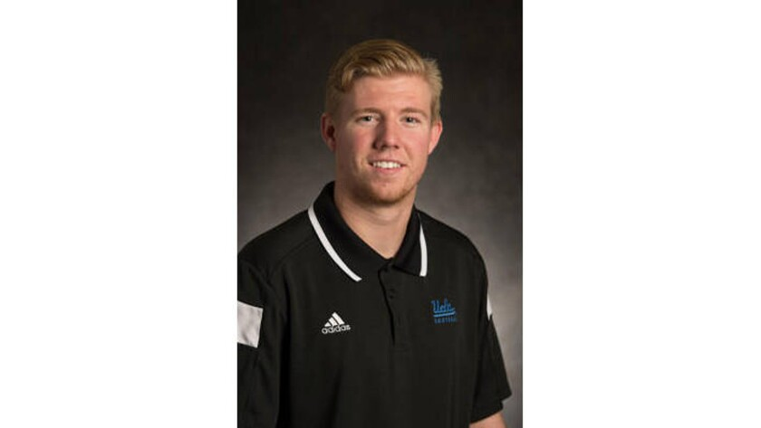 Adam Searl is seen in a photo from the UCLA Bruins website.