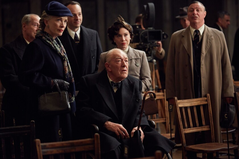 """Lindsay Duncan and Michael Gambon star as Clemmie and Winston Churchill in """"Churchill's Secret."""""""
