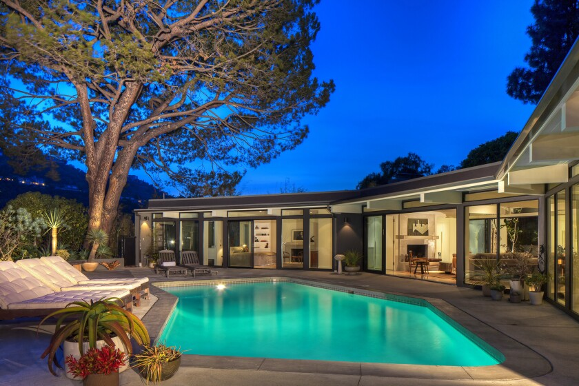 Ellen DeGeneres sold a Marmol Radziner-renovated ranch-style home in Hollywood Hills West for $9.9 million.
