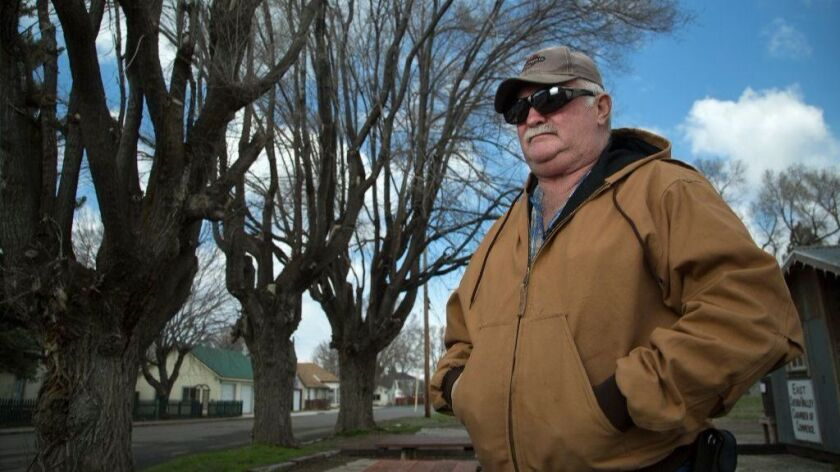 Loyalton city retiree John Cussins had his pension cut by 60% when Loyalton opted out of the CalPERS program, citing the inability to afford paying into the program.