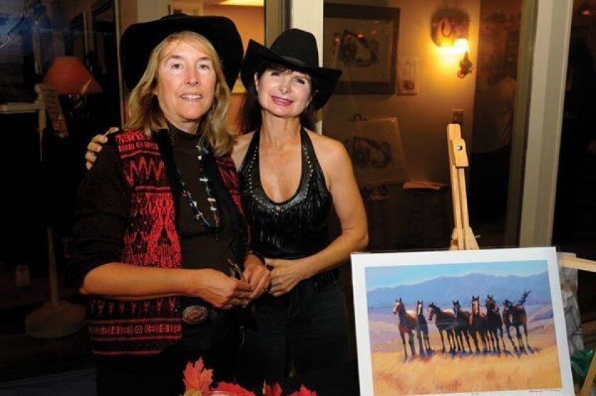 Deanna Ditzler and Celia Sciacca. Photos by Jon Clark