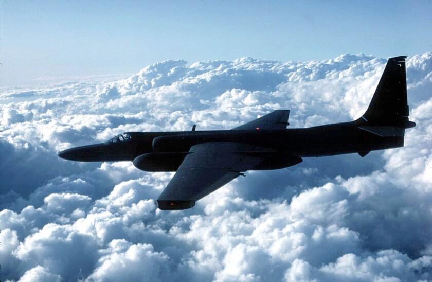 A U.S. Air Force U-2 spy plane