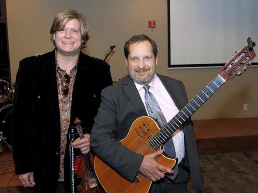 Guest musicians Alex DePue and Miguel DeHoyos