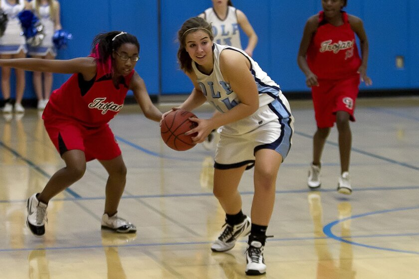 Our Lady of Peace senior Kirsten Johnson will try to help the Pilots repeat as a San Diego Section champion.