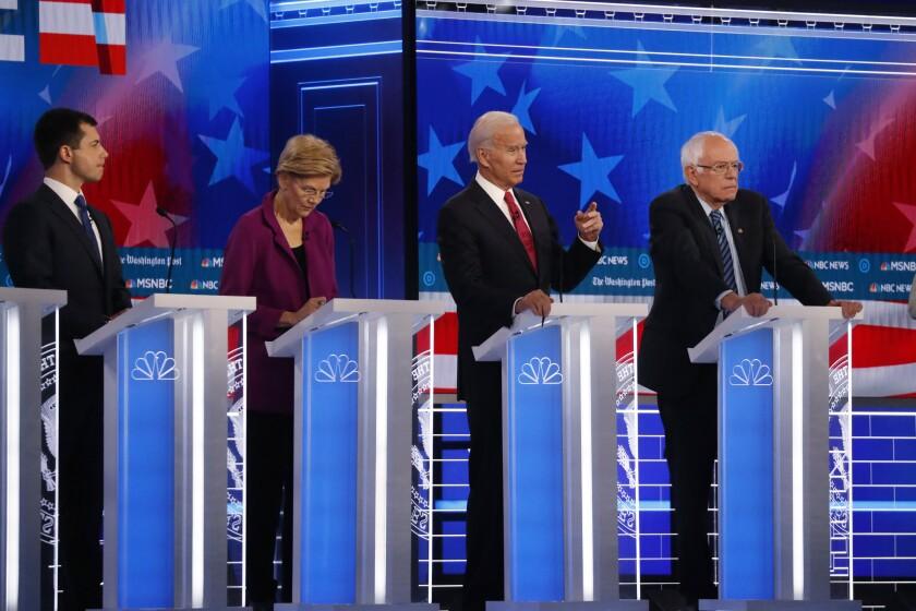 Democratic presidential debate in Atlanta.
