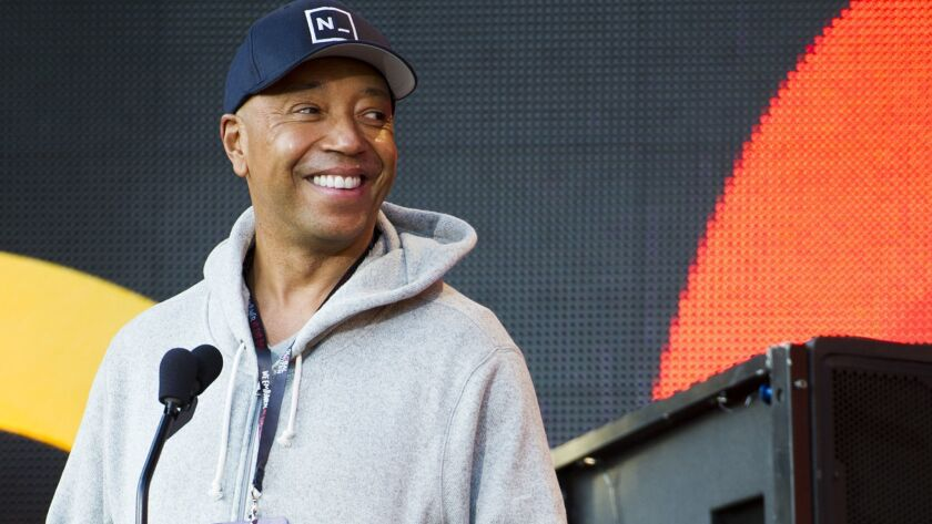 Russell Simmons, shown in New York in 2013, already faces numerous allegations of sexual misconduct from women. But the hip-hop mogul denies all accusations.