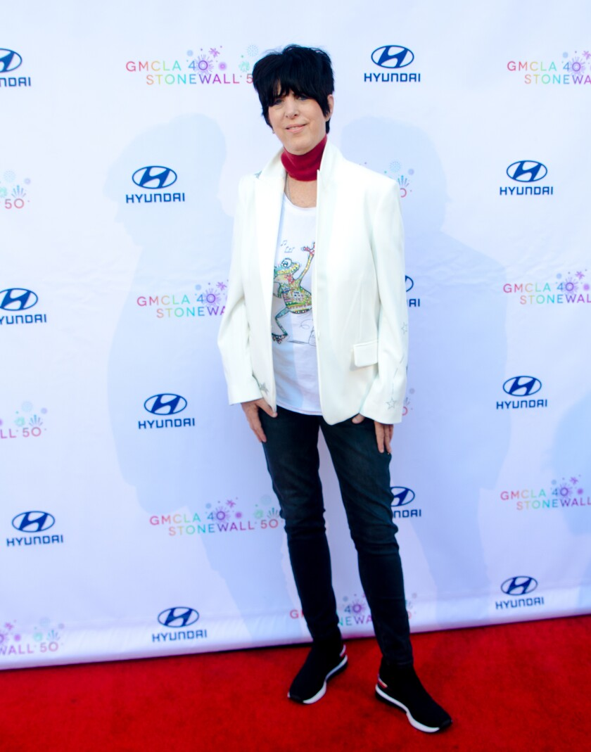 Diane Warren at the Gay Men's Chorus of Los Angeles gala