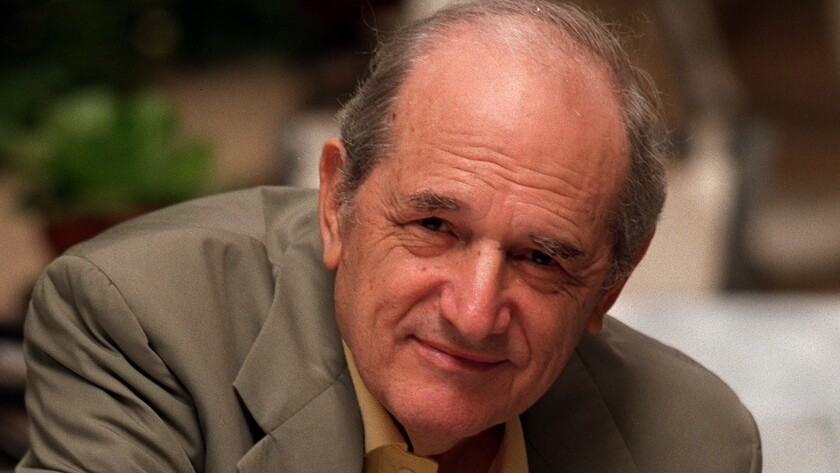 Steven Hill in Los Angeles in 1998, when he was nominated for a supporting actor Emmy Award.