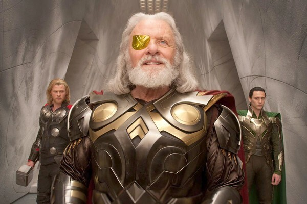 Anthony Hopkins as Odin in 'Thor' (2011)