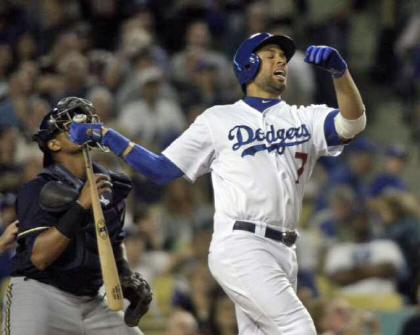 James Loney is spending a lot of time on the bench recently.