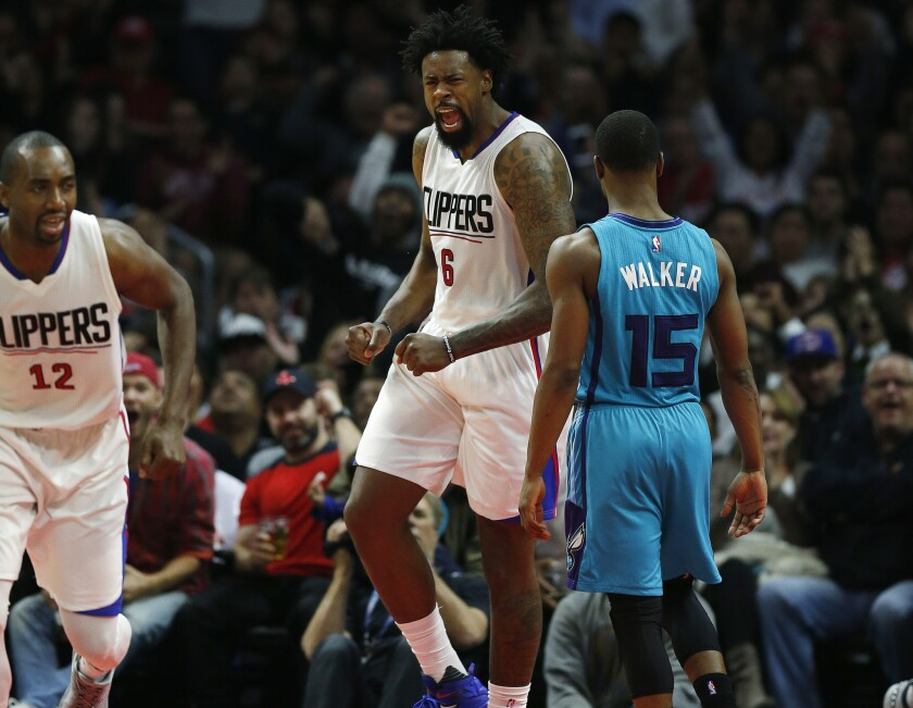 Clippers iron man DeAndre Jordan hasn't sat out a game in nearly five years