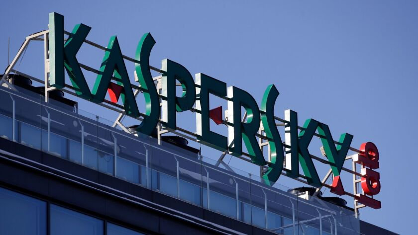 Kaspersky Lab, which makes antivirus software, is based in Moscow.