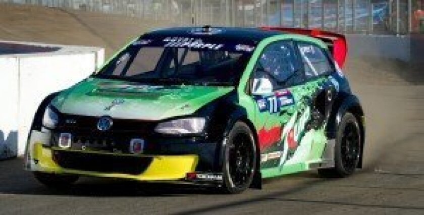 Supercars race winner Scott Speed.