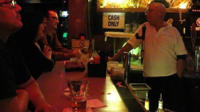 Bob at the bar. (/ Rosemary Bystrak / SDdialedin.com)
