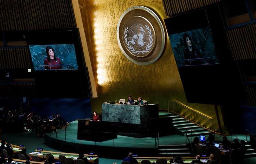 El Consejo de Seguridad de la ONU votará este viernes una propuesta de Estados Unidos para ampliar las sanciones contra Corea del Norte. EFE