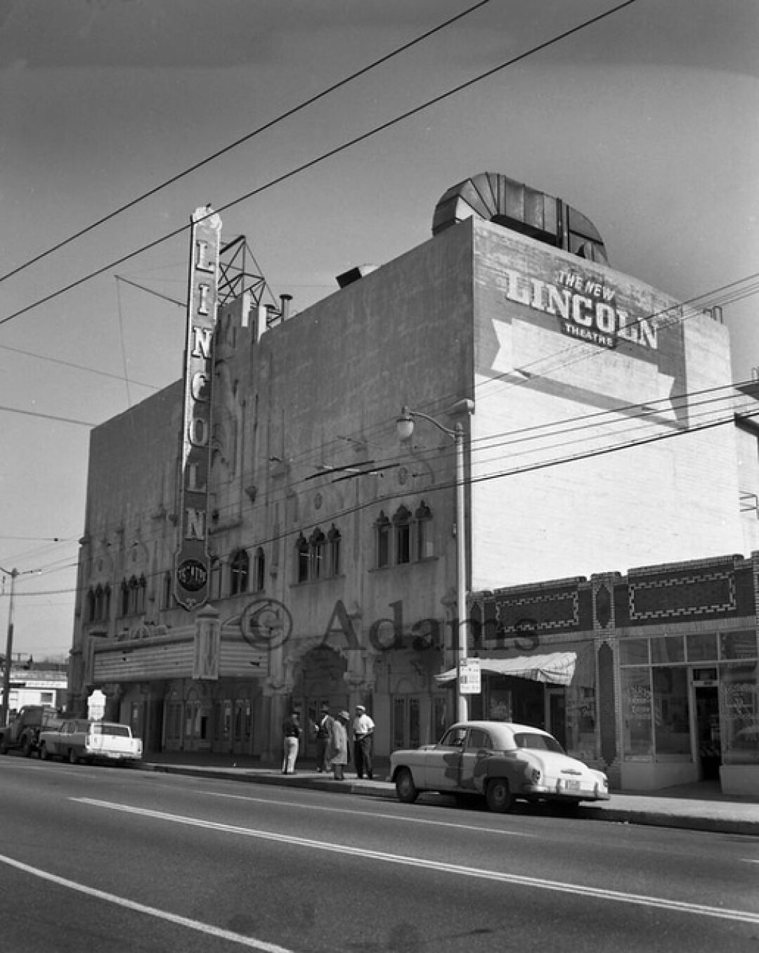 "The Lincoln Theater on Central Avenue became known as the ""West Coast Apollo."""