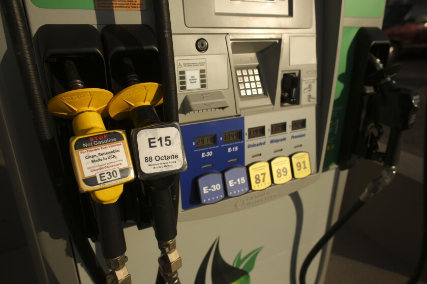 Ethanol fuel blend