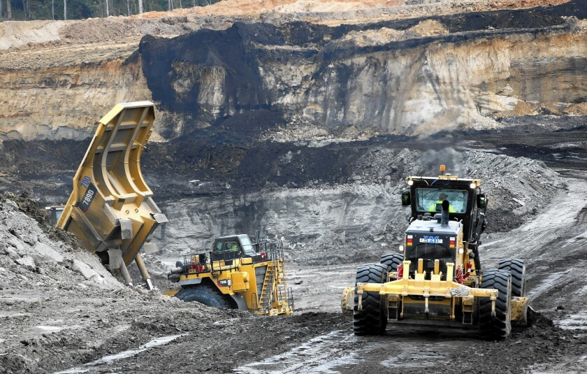 A $5-billion power plant is being constructed at the mouth of a mine for lignite coal in rural Kemper County, Miss. If successful, up to 65% of the plant's potential carbon dioxide emissions would be removed.